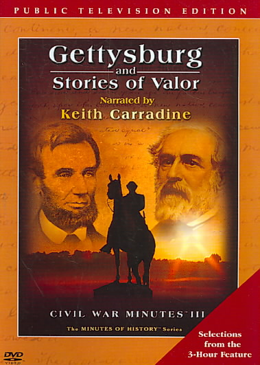 GETTYSBURG AND STORIES OF VALOR (DVD)
