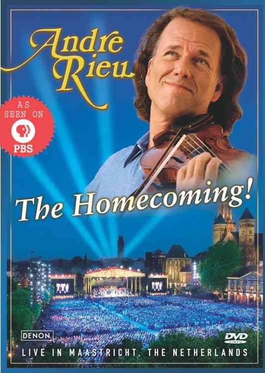 HOMECOMING BY RIEU,ANDRE (DVD)